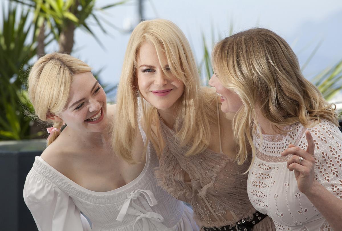 Elle Fanning, Nicole Kidman and Kirsten Dunst